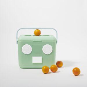 Beach Cooler Box Sounds Mint